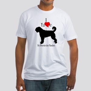 Bouvier des Flandres Fitted T-Shirt