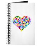 Rainbow Heart of Hearts Journal