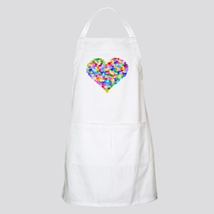 Rainbow Heart of Hearts Apron
