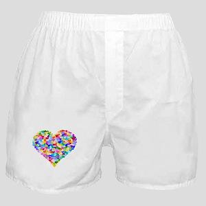 Rainbow Heart of Hearts Boxer Shorts