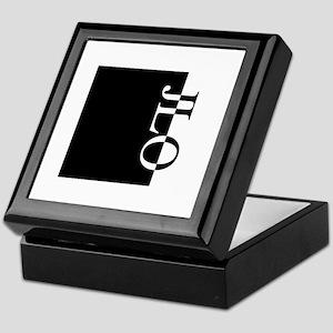 JLO Typography Keepsake Box