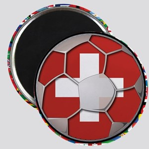 Switzerland Flag World Cup Fo Magnet