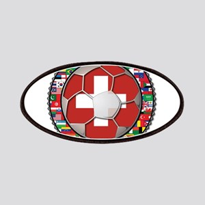 Switzerland Flag World Cup Fo Patches