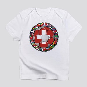 Switzerland Flag World Cup Fo Infant T-Shirt