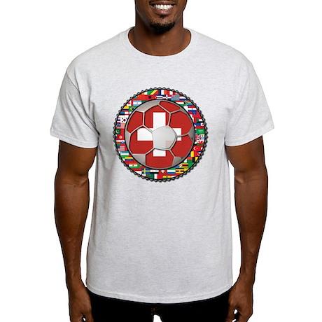 Switzerland Flag World Cup Fo Light T-Shirt