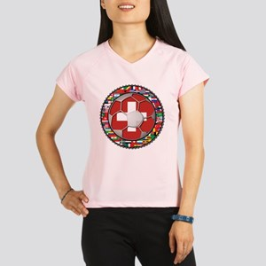 Switzerland Flag World Cup Fo Performance Dry T-Sh