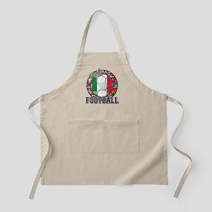 Italy Flag World Cup Football Apron
