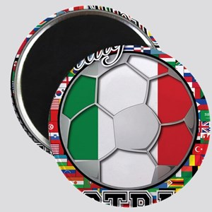 Italy Flag World Cup Football Magnet