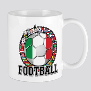 Italy Flag World Cup Football Mug