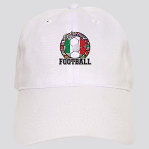 Italy Flag World Cup Football Cap