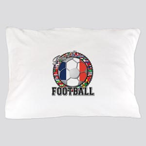 France Flag World Cup Footbal Pillow Case