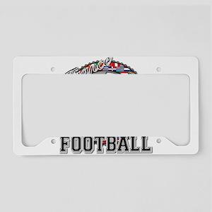 France Flag World Cup Footbal License Plate Holder
