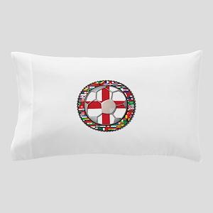England Flag World Cup Footba Pillow Case