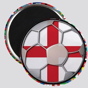 England Flag World Cup Footba Magnet