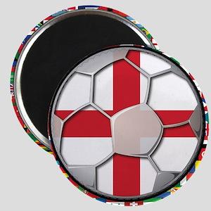 England Flag World Cup Footba Magnet