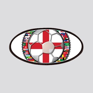England Flag World Cup Footba Patches