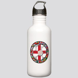 England Flag World Cup Footba Stainless Water Bott