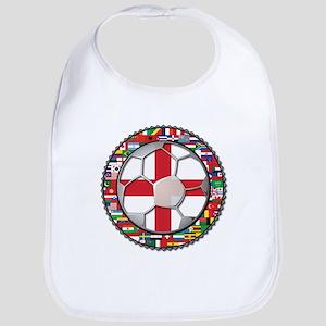 England Flag World Cup Footba Bib
