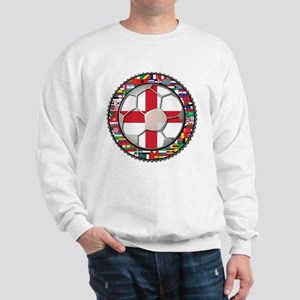 England Flag World Cup Footba Sweatshirt