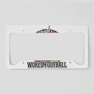 England Flag World Cup Footba License Plate Holder