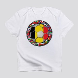 Belgium Flag World Cup Footba Infant T-Shirt