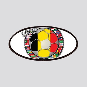 Belgium Flag World Cup Footba Patches