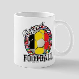 Belgium Flag World Cup Footba Mug