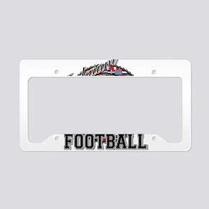 Belgium Flag World Cup Footba License Plate Holder