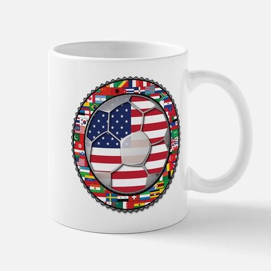 United States Flag World Cup Mug