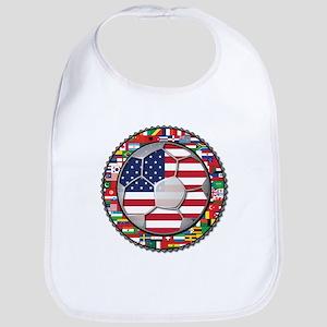 United States Flag World Cup Bib