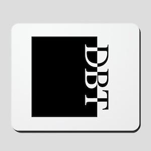 DBT Typography Mousepad