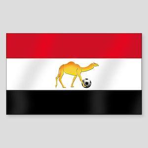 Egyptian Camel Flag Sticker (Rectangle)
