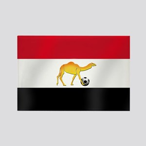 Egyptian Camel Flag Rectangle Magnet