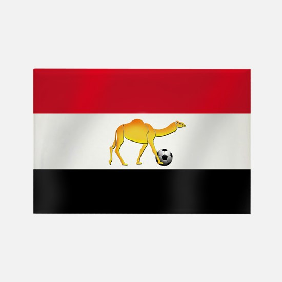 Egyptian Camel Flag Rectangle Magnet (100 pack)