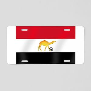 Egyptian Camel Flag Aluminum License Plate