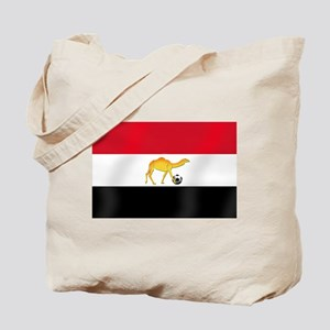Egyptian Camel Flag Tote Bag