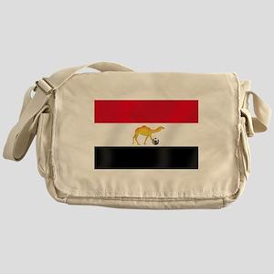 Egyptian Camel Flag Messenger Bag