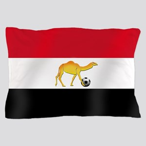 Egyptian Camel Flag Pillow Case