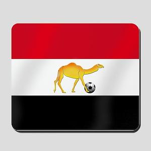 Egyptian Camel Flag Mousepad