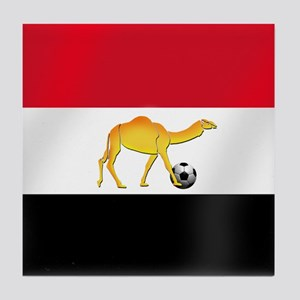 Egyptian Camel Flag Tile Coaster