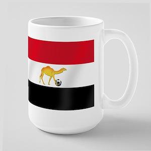 Egyptian Camel Flag Large Mug