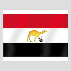 Egyptian Camel Flag Small Poster