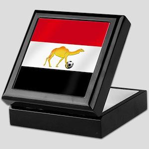 Egyptian Camel Flag Keepsake Box