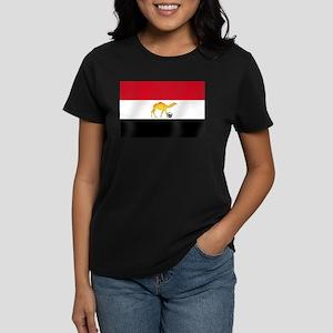 Egyptian Camel Flag Women's Dark T-Shirt