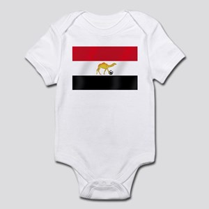 Egyptian Camel Flag Infant Bodysuit