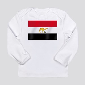 Egyptian Camel Flag Long Sleeve Infant T-Shirt