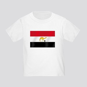 Egyptian Camel Flag Toddler T-Shirt