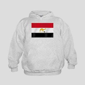 Egyptian Camel Flag Kids Hoodie