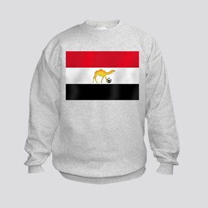 Egyptian Camel Flag Kids Sweatshirt