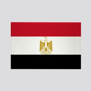 Flag of Egypt Rectangle Magnet